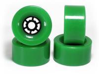 Koston Longboard Wheels Core Grün 83mm / 78a Wheel Set Rollen Skateboard - Downhill Cruiser Wheels (4 Rollen )