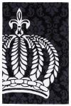 Harald Glööckler Designer Teppich 160 x 230 cm Schwarz / Weiss - Barock Design Teppich