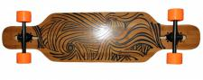 Koston Longboard Drop Through Komplettboard Cruiser Polaris 40.0 x 10.0 inch - Profi Dropthrough Longboard Drop Thru Carver