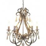 Casa Padrino Barock Decken Kristall Kronleuchter Silber Durchmesser 63 x H 70 cm Antik Stil - Möbel Lüster Leuchter Deckenleuchte Hängelampe