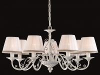 Casa Padrino Barock Decken Kronleuchter Schnee Weiß 74 x H 39 cm Antik Stil - Möbel Lüster Leuchter Hängeleuchte Hängelampe