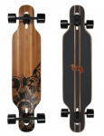 Jucker Hawaii Complete Longboard Hoku Drop Through Flex 2 - Dropthrough Profi Longboard mit Koston Kugellagern