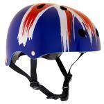 SFR Skateboard / Scooter / Inliner / Rollschuh Schutz Helm - Union Jack - Bmx, Inliner, Longboard Helm - Schutzausrüstung Skateboard Helm