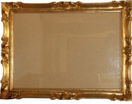 Casa Padrino Barock Holz Bilderrahmen 144 x 84 cm Gold - Großer Bilder Rahmen Foto Rahmen Jugendstil Antik Stil - Made in Italy