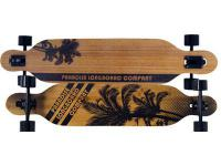 Paradise Drop Through Bamboo Complete Longboard Komplettboard Komplett Palms Drop
