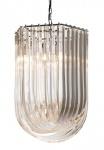 Casa Padrino Art Deco Murano Haengeleuchte 44 x 51cm x H70 cm- Möbel Lüster Leuchter Hängeleuchte Hängelampe