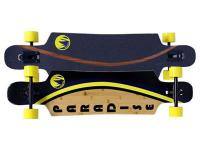 Paradise Drop Through Bamboo Complete Longboard Komplettboard Komplett