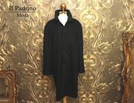 Il Padrino Moda Luxus Kaschmir Woll Mantel - Gr. 50 -Super edel aus Italien - Wintermantel Mafia Mode Obst Florian