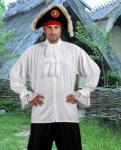 Colonial Piraten Shirt - White