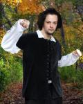 Medieval Piraten / Mittelalter Weste - Black
