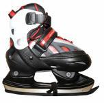Hudora Xpulse Schlittschuhe Ice Skates Black/Red/White Profi Schlittschuhe Kids Ice Skates