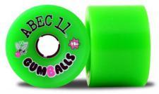 ABEC 11 Longboard Rollen Set Gumballs 81A 76mm (4 Stück)