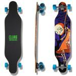 Clans Beginner Longboard Freeride Cruiser Komplettboard Spectre 41.0 x 9.5 inch LB-C-070