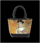 Designer Shoppertasche mit einem Motiv des bedeutenden Wiener Jugendstilmalers Gustav Klimt - Elegante Tasche - Luxus Design