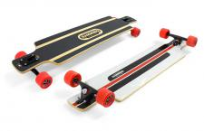 Hammond Complete Longboard Drop Through Komplettboard B-40 - Dropthrough Profi Longboard mit Koston Kugellagern