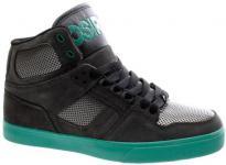 Osiris Skateboard Schuhe NYC 83 VLC Charcoal/Gunmetal/Teal