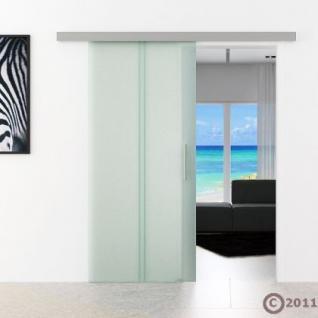 Glas Schiebtür m. Stangengriff 775 x 2050 x 8 mm - Vorschau 2