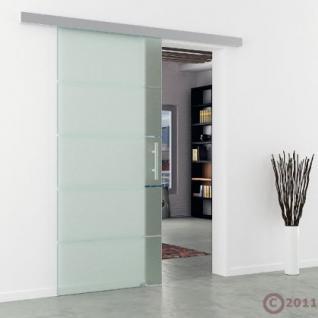 GLASSCHIEBETÜR MODELL DORMA AGILE 50 Glas Streifen - Vorschau 3