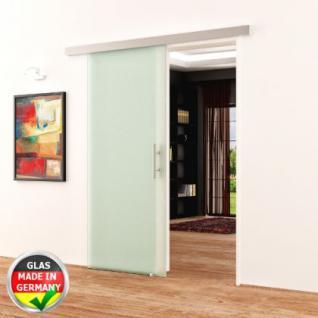Glasschiebetür komplett satiniert DORMA AGILE 900x2050