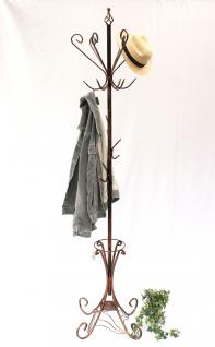 Kleiderständer Schirmständer Art.156 Metall 210cm Garderobe Garderobenständer - Vorschau 1