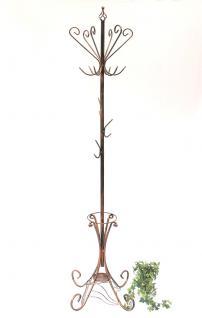 Kleiderständer Schirmständer Art.156 Metall 210cm Garderobe Garderobenständer - Vorschau 2