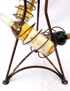 weinregal flaschenregal 112cm flaschenhalter metall weinst nder f r 1l flaschen. Black Bedroom Furniture Sets. Home Design Ideas