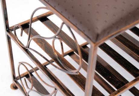 schuhregal mit sitzbank bank 70cm schuhbank. Black Bedroom Furniture Sets. Home Design Ideas