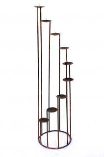 kerzenst nder aus schmiedeeisen 102cm. Black Bedroom Furniture Sets. Home Design Ideas