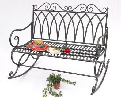 schaukelbank 132730 gartenbank aus metall bank 112cm sitzbank garten schaukel kaufen bei. Black Bedroom Furniture Sets. Home Design Ideas