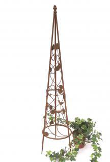 Rankhilfe Pyramide 082547 aus Metall S-95cm Kletterhilfe Rankgerüst Ranke