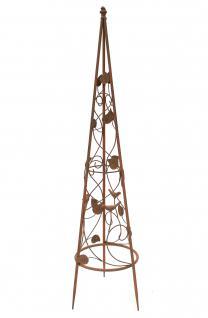 Rankhilfe Pyramide 082547 aus Metall S-95cm Kletterhilfe Rankgerüst Ranke - Vorschau 5