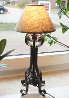 Tischlampe 015264 Carezzo 49cm Nachttischlampe aus Schmiedeeisen Lampe Nachtlampe - Vorschau 1