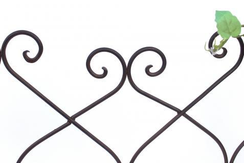 steckzaun franca 077748 rankhilfe rankgitter aus metall b. Black Bedroom Furniture Sets. Home Design Ideas