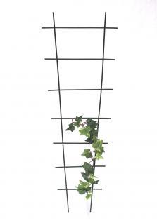 Rankhilfe Rankgitter Art.307 Kletterhilfe aus Metall 65cm Grün Steckzaun Zaun