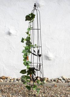 Rankhilfe 130486 XL Rankpyramide 154cm Kletterhilfe Rankgitter Bodenstecker Zaun