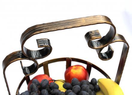 Etagere Obstkorb 10-320 Gemüsekorb 62cm Küchenregal mit 2 Körbe Obstschale Korb - Vorschau 3