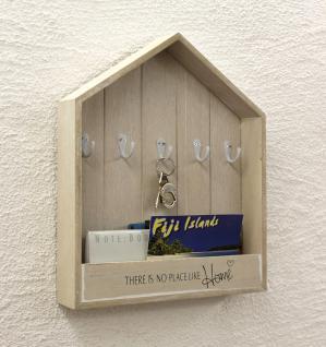 Schlüsselboard Briefablage 18136 Schlüsselkasten Memoboard 41cm Schlüsselleiste