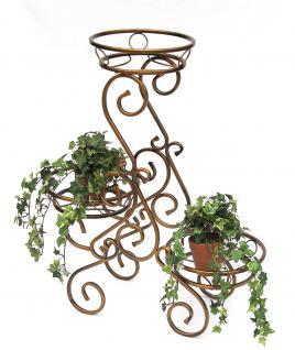 Blumentreppe 10-1085 Blumenständer Blumensäule 79cm Pflanzsäule Pflanzständer - Vorschau 4