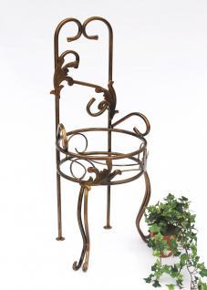 Stuhl Blumenhocker 10-1105 Blumenständer 77cm Pflanzsäule Pflanzständer Hocker - Vorschau 1