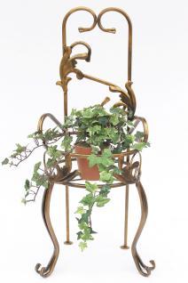 Stuhl Blumenhocker 10-1105 Blumenständer 77cm Pflanzsäule Pflanzständer Hocker - Vorschau 2