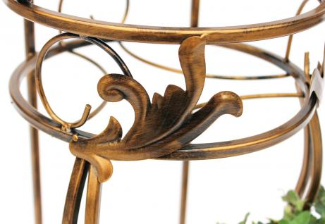 Stuhl Blumenhocker 10-1105 Blumenständer 77cm Pflanzsäule Pflanzständer Hocker - Vorschau 3