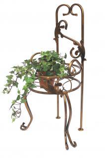 Stuhl Blumenhocker 10-1105 Blumenständer 77cm Pflanzsäule Pflanzständer Hocker - Vorschau 5