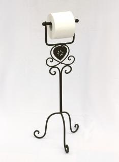 Toilettenrollenständer 65cm Toilettenpapierhalter CH164 Rollenhalter aus Metall - Vorschau 4