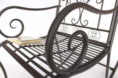 schaukelstuhl dy140490 gartenstuhl aus metall stuhl schwingsessel schaukel braun kaufen bei. Black Bedroom Furniture Sets. Home Design Ideas