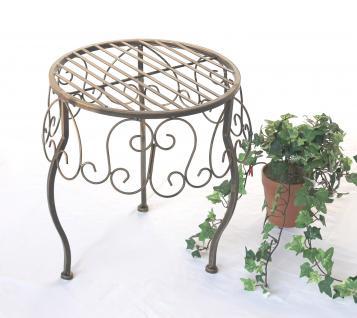Blumenhocker 140129 XL Blumenständer 35cm Pflanzenständer Hocker Beistelltisch Tisch