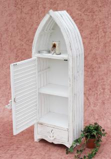 boot schrank 1200012 xl regal 123cm badregal shabby badschrank wei badm bel kaufen bei. Black Bedroom Furniture Sets. Home Design Ideas