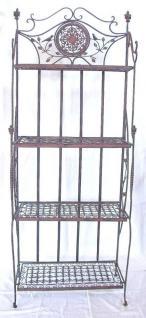 Regal Avis aus Metall Schmiedeeisen 18451 Braun 175cm XXL Bücherregal - Vorschau 2