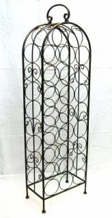 weinregal flaschenregal 94004 flaschenst nder aus metall f r 26 flaschen 105cm neu kaufen bei. Black Bedroom Furniture Sets. Home Design Ideas