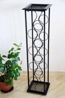 weinregal blumens ule oktave 100cm flaschenst nder metall regal flaschenhalter kaufen bei. Black Bedroom Furniture Sets. Home Design Ideas