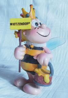 Biene Wietzendorf Maskottchen Figur aus Kunststoff NEU